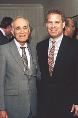 Alfred Gessow with son Jody Gessow